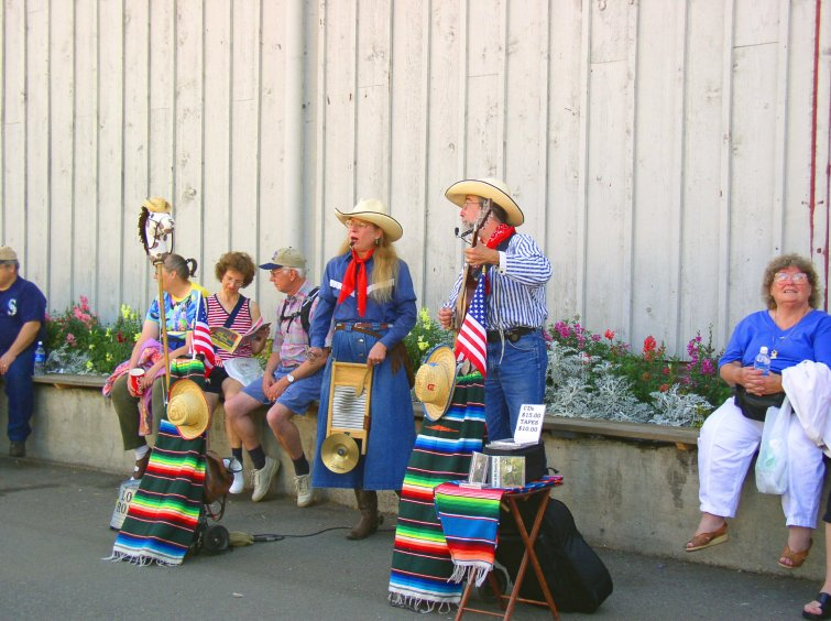 Musicians at Pulyallup Fair
