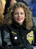 A real NFL Cheerleader!