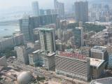 aerial view of kowloon