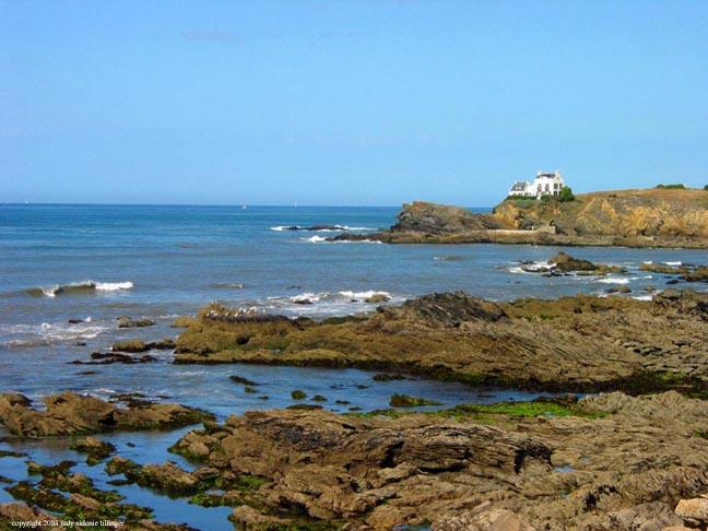 rocky coast, le pouldu