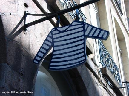 striped shirt, rennes
