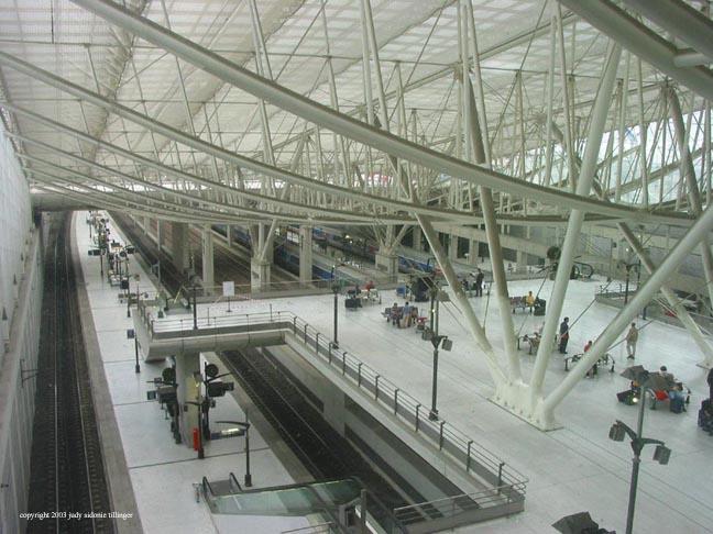 CDG train station, paris