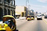 Driving down the Malecon