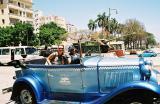 Taxi out front of the Museum De La Revolution