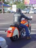nice Indian motorcycle  in Mesa Arizona USA