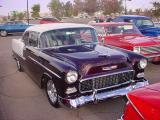 55 Chevy hardtop