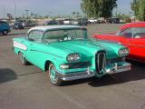 1958 green Edsel