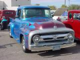 blue Ford pickup