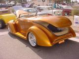 beautiful gold convertible