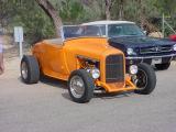 orange Ford & Mustang