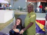 Tammy White [RWCA Inc.] and Judy Nolte [Over the Hill Gang Phx.]
