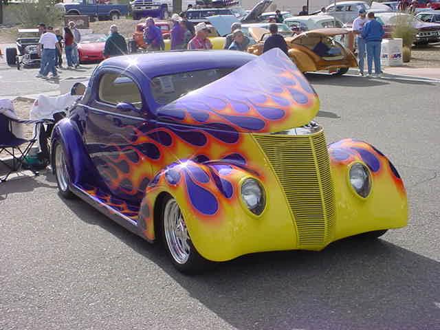 2003 Car Show<br>1937 Ford 3 window