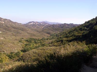Corral Canyon Trailhead - 11/7/03 -