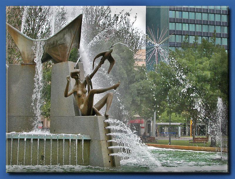 Adelaide fountain