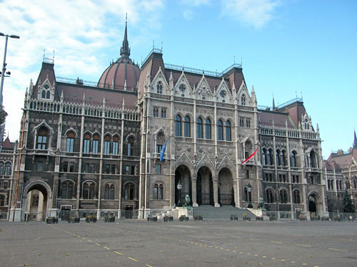 The Parliament, East façade