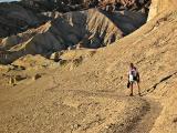 A long warm hike