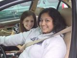 6-Ixchel and her friend in the bmw