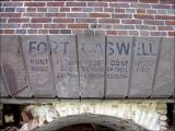 Fort Caswell entrance