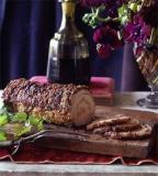 Mortadella-Stuffed Pork Loin with Rosemary Potatoes #62091
