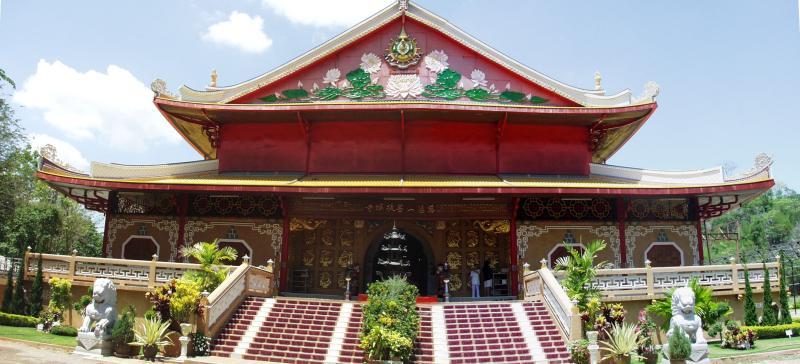 Chinese Temple in Kan Wat Mettadharmabodiyan