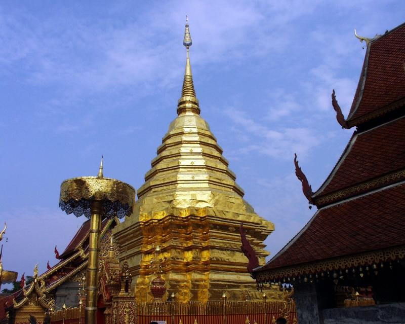 Stupa Pagado (Golden Chedi)