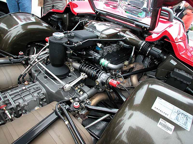 Ferrari F50 power plant