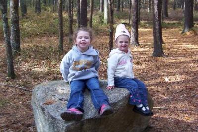 Mauras girls - Michealla and Bella