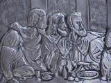 fragment  The last supper al