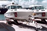 1973 - Presidential security go fast boats - Coast Guard stock photo