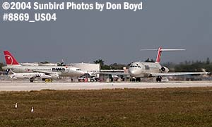 Northwest Airlines DC9-31 N964N airline aviation stock photo #8869