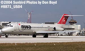 Northwest Airlines DC9-31 N964N airline aviation stock photo #8871