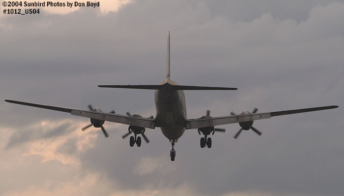 Legendary Airliners (ex-Eastern) DC-7B N836D aviation aircraft stock photo #1012