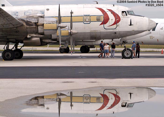 Legendary Airliners (ex-Eastern) DC-7B N836D aviation aircraft stock photo #1020