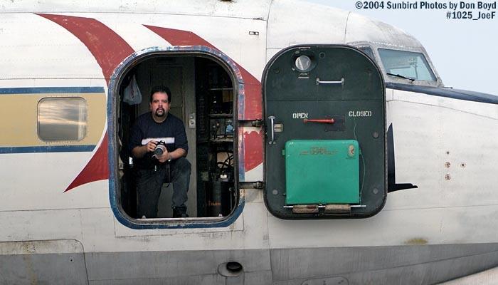 Joe Fernanez onboard Legendary Airliners (ex-Eastern) DC-7B N836D aviation aircraft stock photo #1025