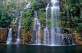 Cachoeira das almécegas, visão frontal, Chapada dos Veadeiros