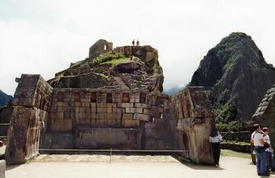 The Sacred Plazas Main Temple