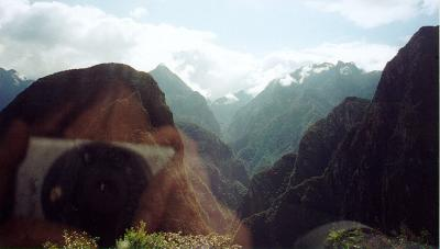 My first head-on encounter with Putucusi Mountain