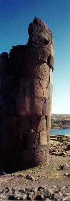 Sillustani - tombs of different styles and subcultures