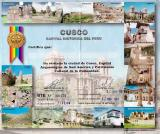 CUSCO area - on our entry ticket