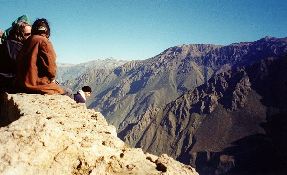 Colca Canyon, Arequipa  (no railings, as usual, which is good