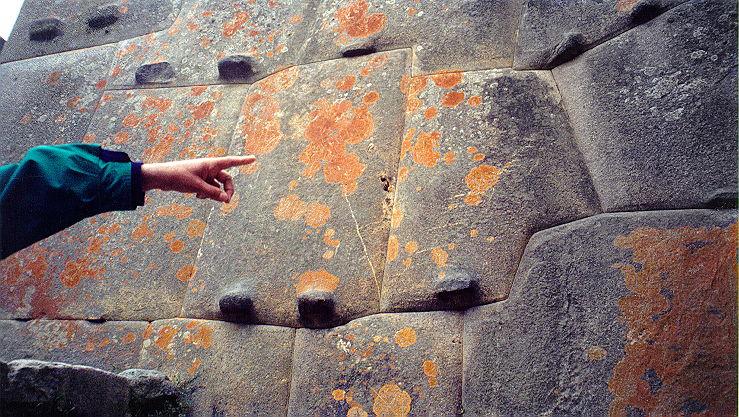 Stonework: no mortar used.