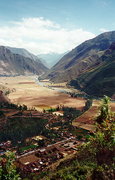 The Sacred Valley:<br>one of the stock shots youll see from us visitors.