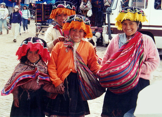 The Pisac Market family regulars