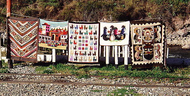 During another train stop - items for sale