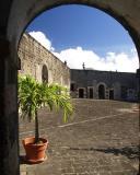 Inside Fort St Kitts