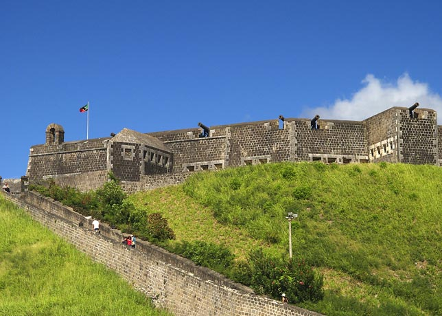 View Of Fort St Kitts