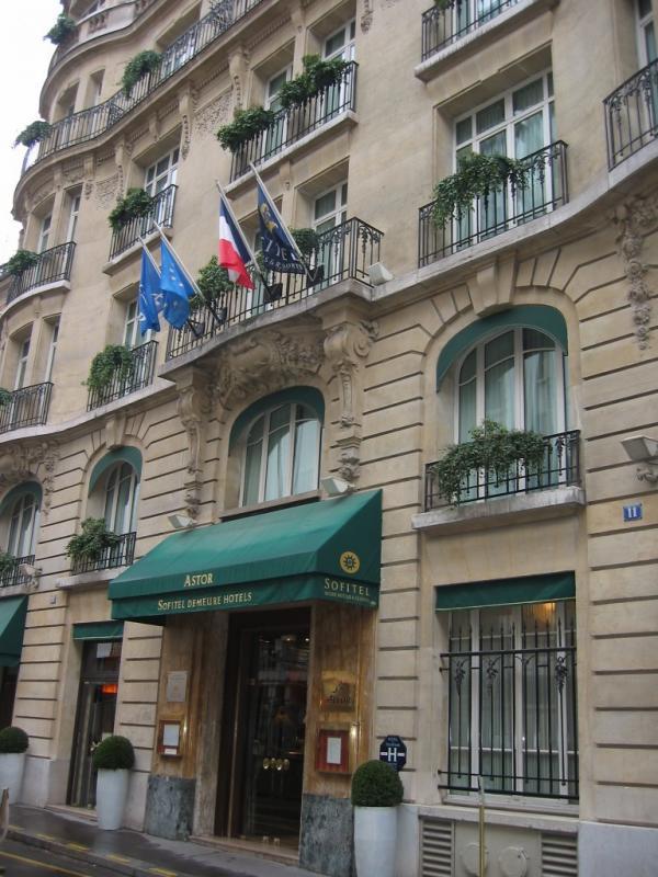 Astor Sofitel Hotel // Paris