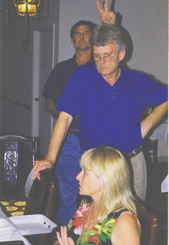 David Maxwell, Kirk Preston and Brenda Wilson.