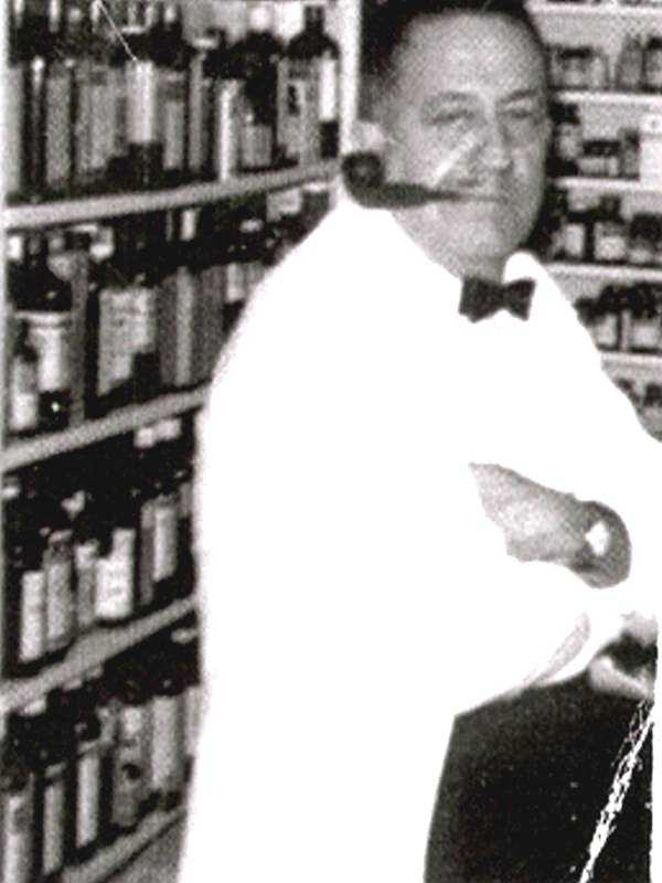 Only known existing photo of Dr. Yates, Whats in his pipe?