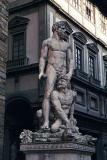Hercules and Cacus, by Bandinelli, 1534, Piazza Vecchio, Florence